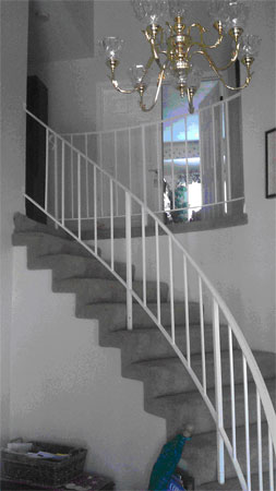 Curved Staircase Remodeling from Stair-Treads.com