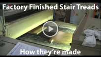 Factory Fisnished Stair Treads Video