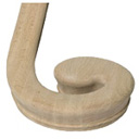 Handrail Fitting 7038 Climbing Volute