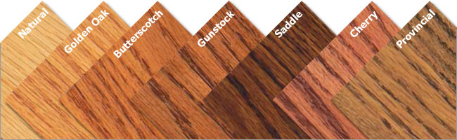 Red Oak (Natural or Stained)