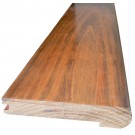 Brazilian Cherry (Jatoba) Natural (Prefinished Clear) Landing Tread 48 in