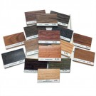 Red Oak Stain Colors Sample Pack